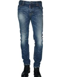 DSquared² 17cm Cool Guy Washed Denim Jeans - Lyst