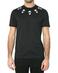 Givenchy Skull Print Jersey T-shirt - Lyst