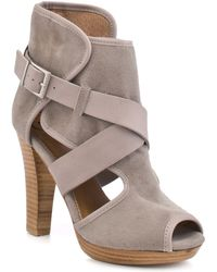 Kelsi Dagger Marcelle - Light Grey Leather - Lyst