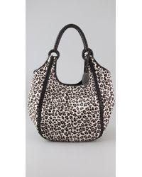 Elie Tahari - Amelia Snow Leopard Handbag - Lyst