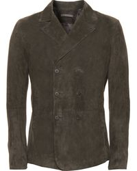 John Varvatos Double-breasted Jacket - Lyst