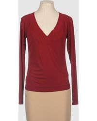 Donna Karan New York Long Sleeve T-shirt - Lyst