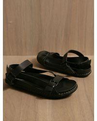 Ann Demeulemeester Mens Rubino Shoes - Black