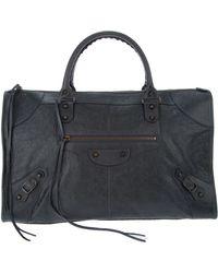 Balenciaga Work Bag - Grey