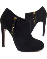 Carvela Kurt Geiger Start Ankle Boots Black - Lyst