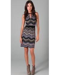 M Missoni Sleeveless Knit Dress - Lyst