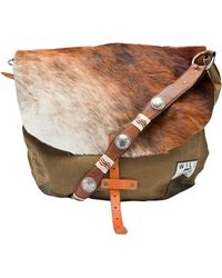 Will Leather Goods - Hairy Messenger Bag - Lyst