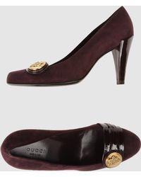 Gucci Closed-toe Slip-ons - Purple