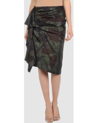 Dries Van Noten 3/4 Length Skirt - Lyst