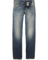 Dolce & Gabbana Stone Washed Jeans - Blue