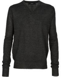 Givenchy Silk and Wool Jumper - Grey