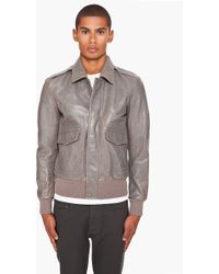 Marc Jacobs - Leather Jacket - Lyst