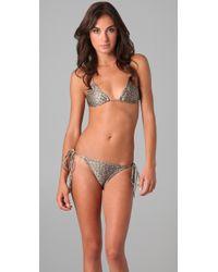 Thayer - Multi Tie Triangle Bikini - Lyst