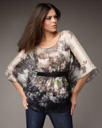 Bailey 44 Forest-print Kimono Top - Lyst