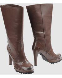 Schumacher - High-heeled Boots - Lyst