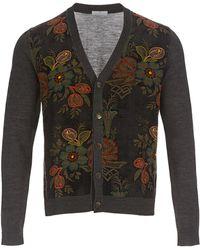 Pierre Louis Mascia Floral Cardigan - Multicolour