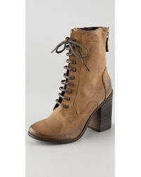 Boutique 9 - Dustan Combat Booties - Lyst