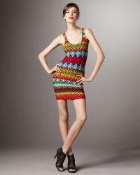 Torn - Sammy Aztec-printed Dress - Lyst