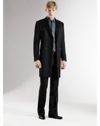 Gucci Double-breasted Wool Coat - Lyst