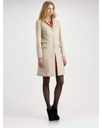 McQ by Alexander McQueen Crombie Dress Coat - Lyst