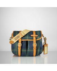 Ralph Lauren Collection Canvas Saranac Bag - Green