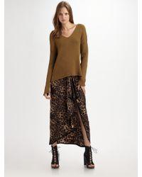 Rebecca Minkoff Bonnie Silk Skirt - Black