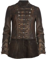 AllSaints Brocade Military Tailcoat - Lyst