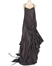 AllSaints Parachute Long Dress - Black