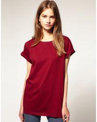 ASOS Collection Asos Boyfriend T-shirt - Lyst