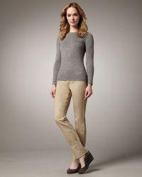 CJ by Cookie Johnson - Faith Camel Straight-leg Jeans - Lyst