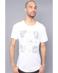 KR3W The Chex Premium Tee in White - Lyst