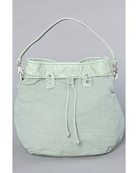 Nixon The Look Back Satchel in Faded Jade - Lyst