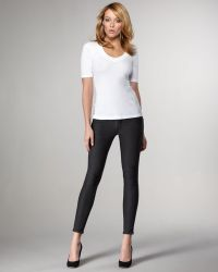 Bleu Lab - Reversible Denim Leggings, Granite - Lyst
