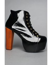 Jeffrey Campbell The Lita Shoe in Black Patent - Lyst