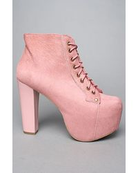 Jeffrey Campbell The Lita Shoe in Pink Pony Hair - Lyst
