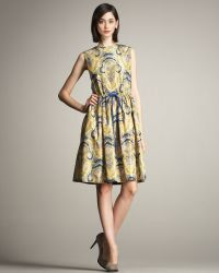 Lyn Devon - Sophie Paisley-print Dress - Lyst