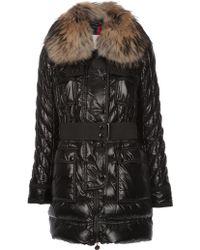 Moncler Safran Coat - Black