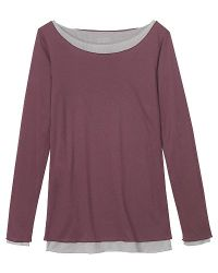 Toast - Double Layer T Shirt Purple - Lyst