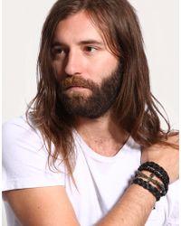 ASOS - Asos Chunky Crucifix Bracelet Pack - Lyst