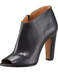 Maison Margiela Peep-toe Column-heel Ankle Boot - Lyst