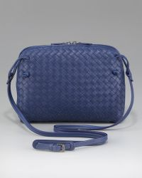 Bottega Veneta Crossbody Veneta Messenger Bag - Lyst