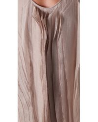 Max Azria - Asymmetrical Long Dress - Lyst