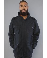 KR3W - The Manchester Ii Jacket in Navy - Lyst