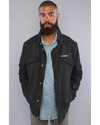 Insight - The Island Of Empires Jacket in Floyd Black - Lyst