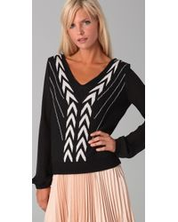 The Addison Story - Deco Pattern Sweater - Lyst