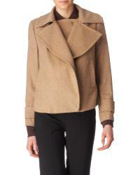 By Malene Birger Oversized Lapel Wool Jacket - Lyst