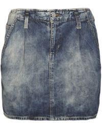 Denim & Supply Ralph Lauren - Denim Paper Bag Skirt - Lyst