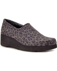 Thierry Rabotin - Dream - Leopard Printed Microfiber Wedge - Lyst