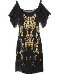 Temperley London Dalia Embellished Silk-georgette Dress - Lyst