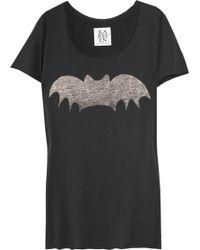 Zoe Karssen Bat Cotton and Modal-blend T-shirt - Lyst